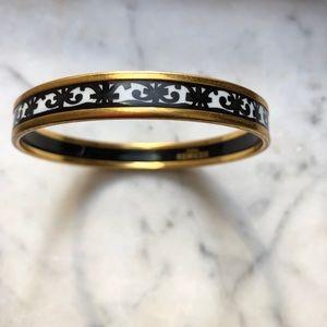 Hermès Printed Enamel Narrow Bracelet